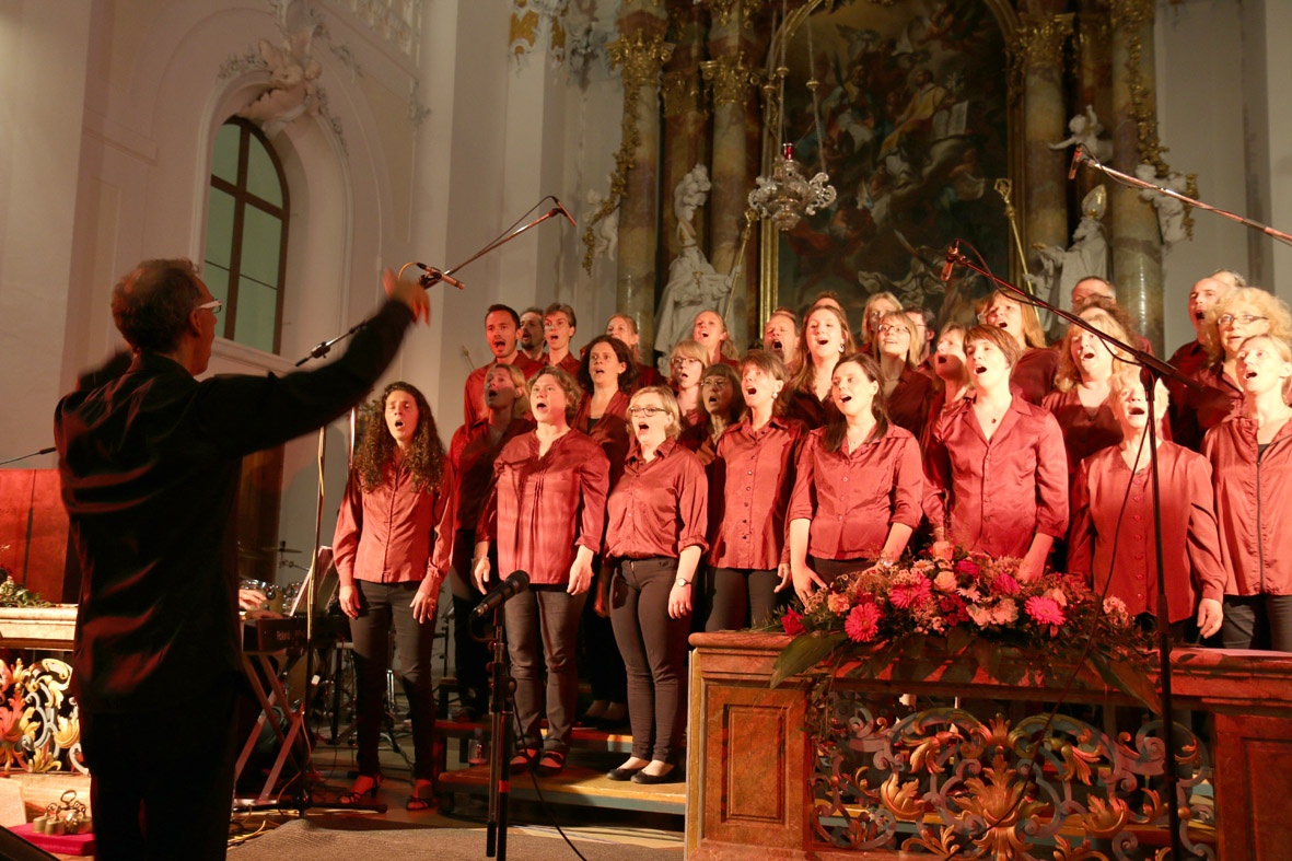 Gospel-Train in der Rotter Kirche